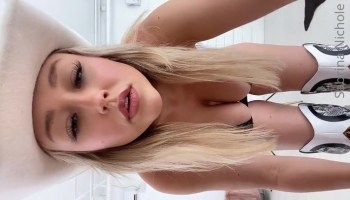 Sabrina Nichole Leaked Pussy And Tits Teasing In The Car Video Leaked photo 26